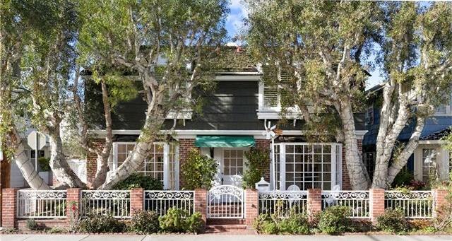 107 Coral Avenue Balboa Island Newport Beach CA Home For Sale