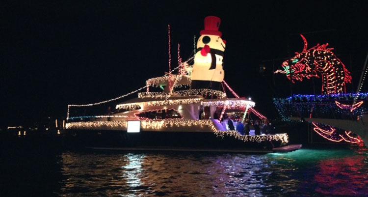 2013 Newport Beach Christmas Boat Parade