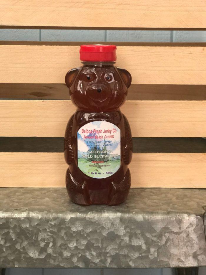 Buckwheat Raw Honey