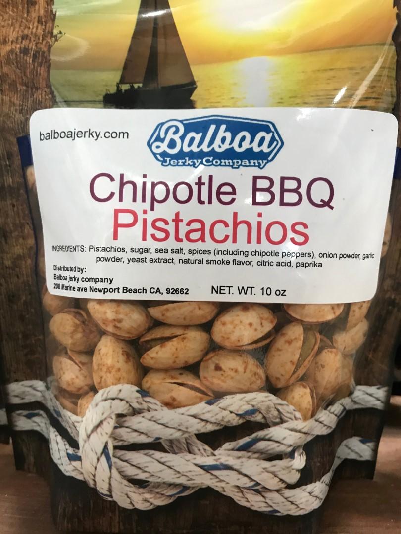 Chipotle BBQ Pistachios