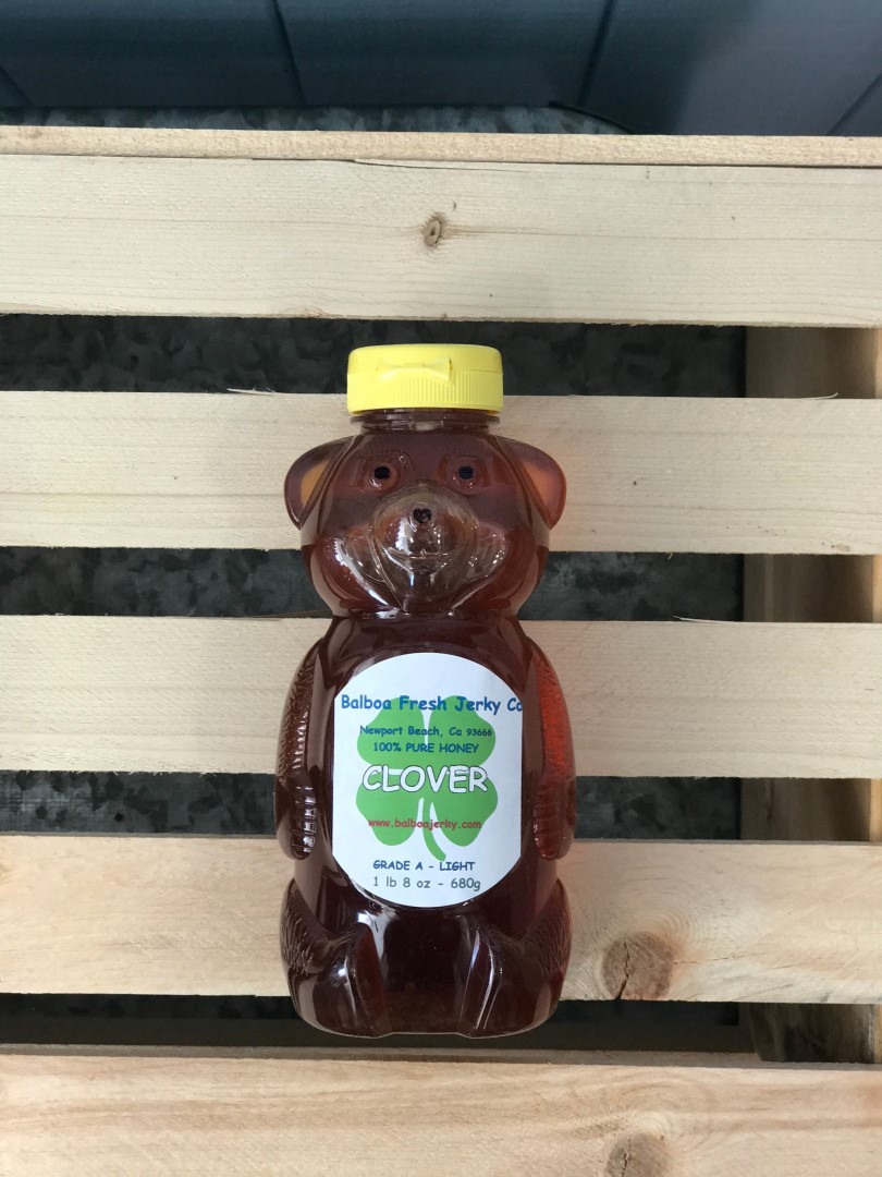 Clover Raw Honey