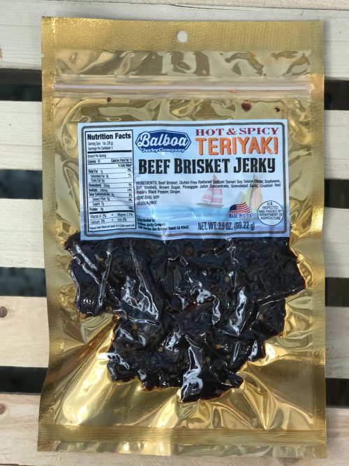 Hot & Spicy Teriyaki Brisket