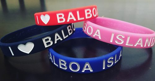 I Love Balboa Island Wristbands 1