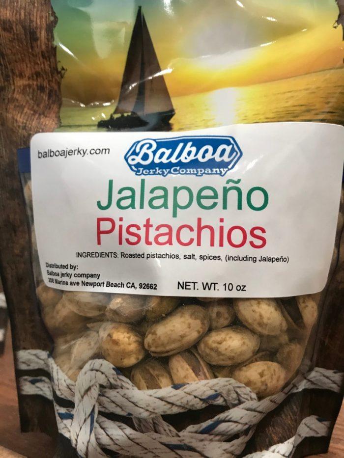 Jalapeno Pistachios