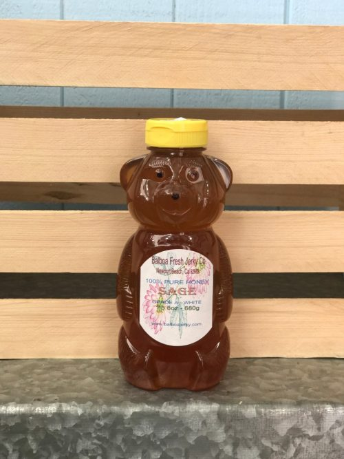 Sage Raw Honey