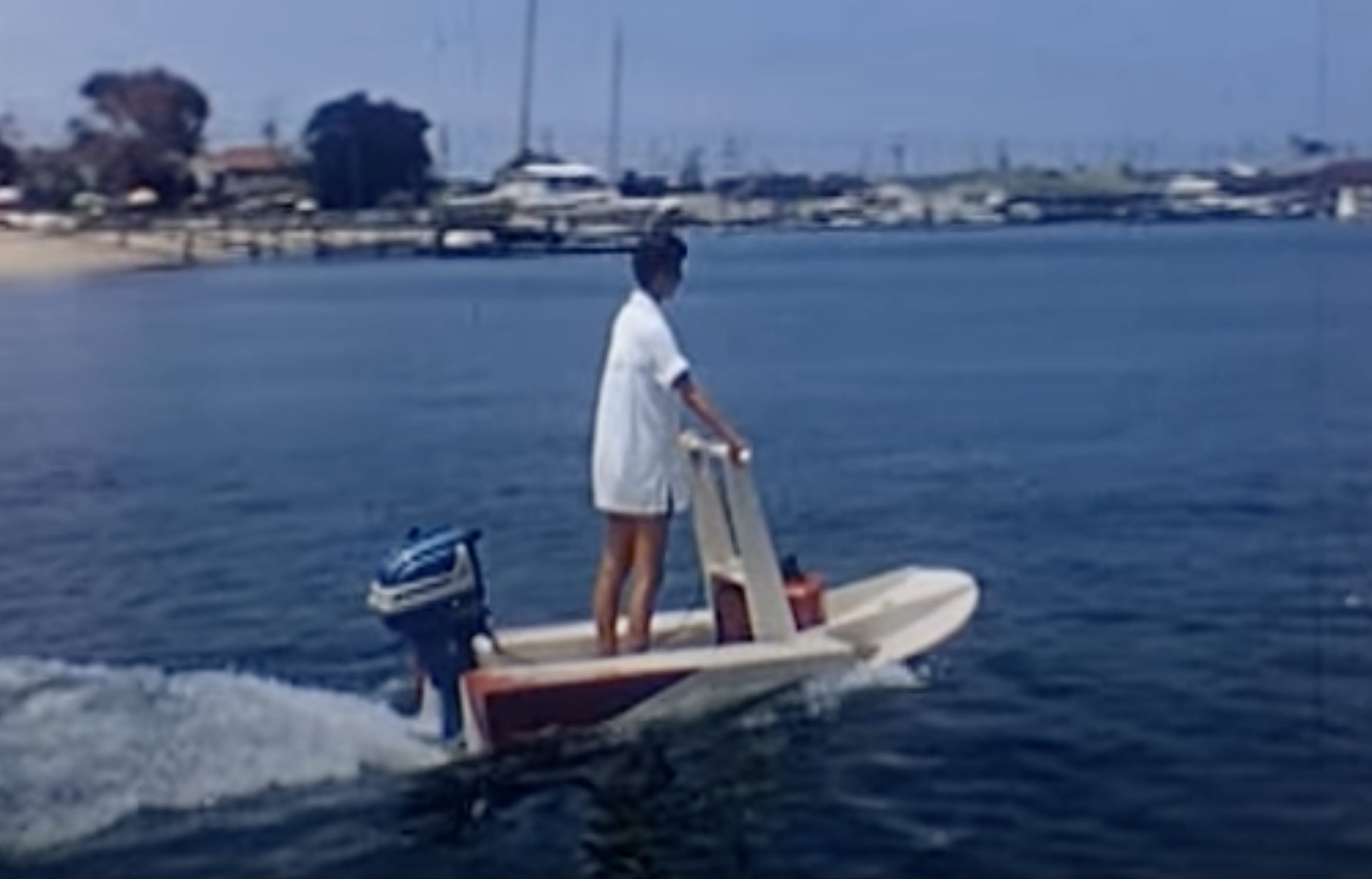 Balboa Island Balboa Peninsula and Newport Harbor Video 1950s