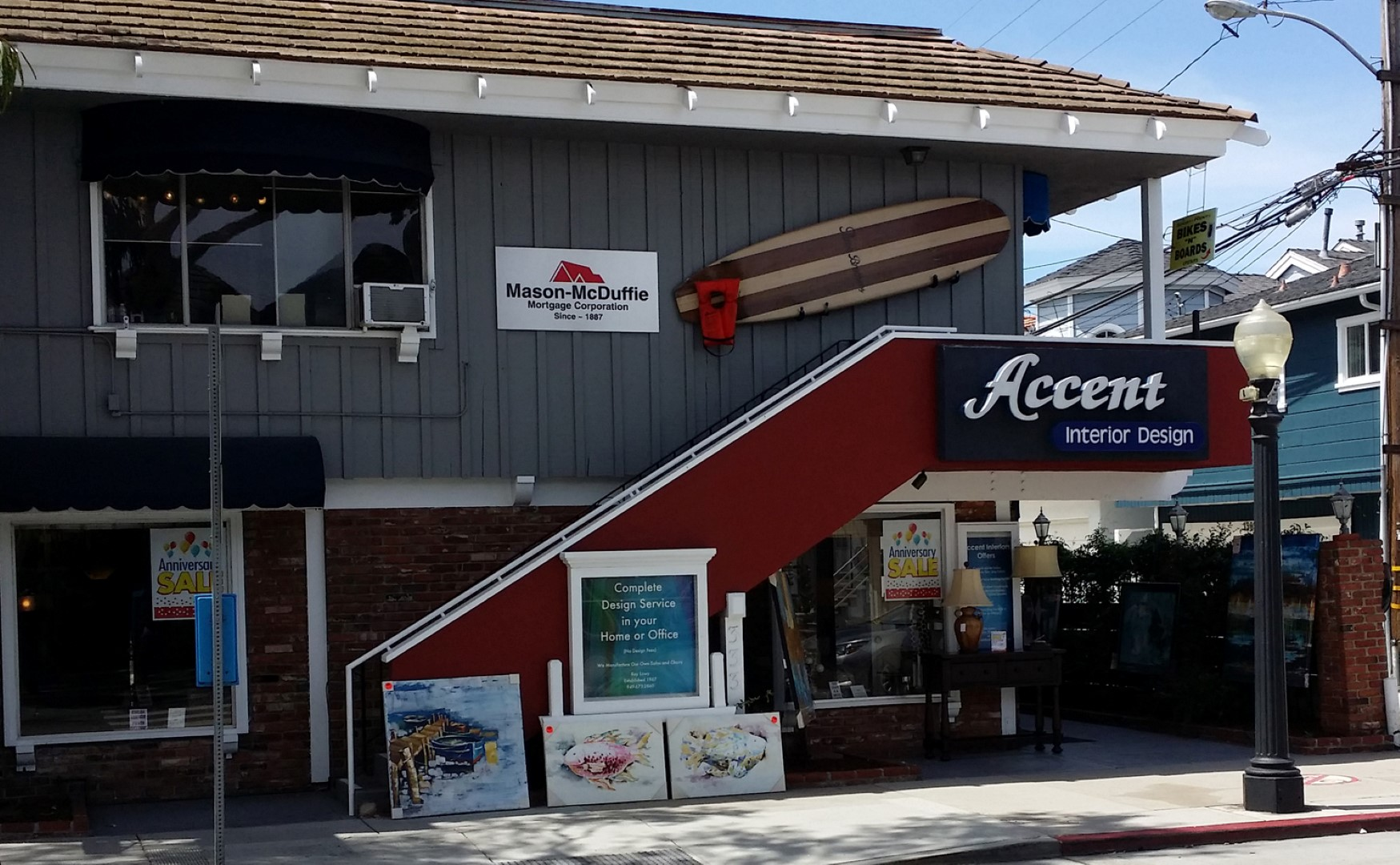 Accent Interior Design Balboa Island Newport Beach Marine Avenue