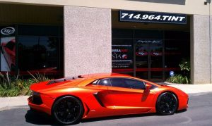 Automotive Window Tinting Luxury Cars in Newport Beach