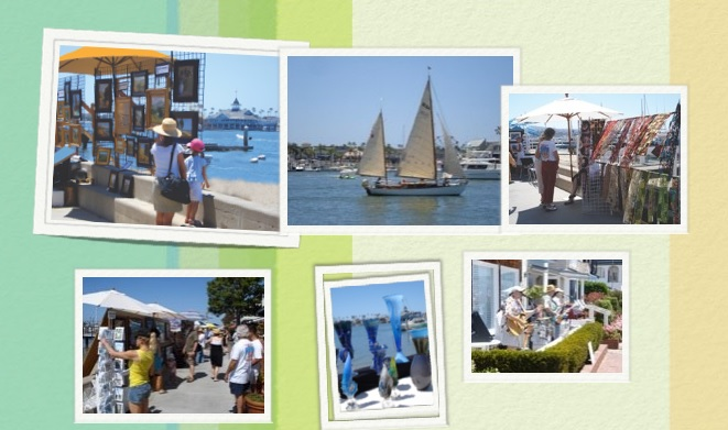 Balboa Island Artwalk 2017 Event on South Bay Front