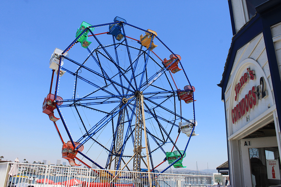 Balboa Island Balboa Fun Zone Ferris Wheel 2