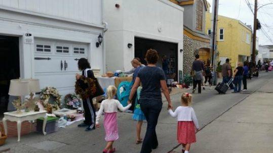Balboa Island Community Garage Sale 2019