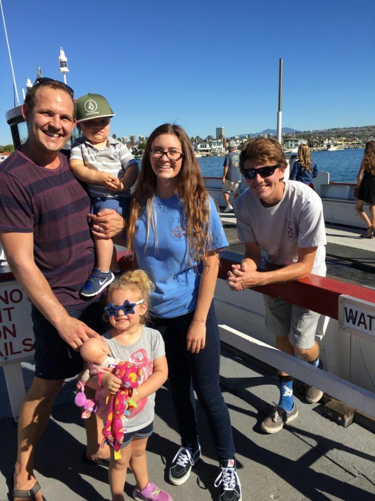 Balboa Island Ferry Baby Blanket Rescue