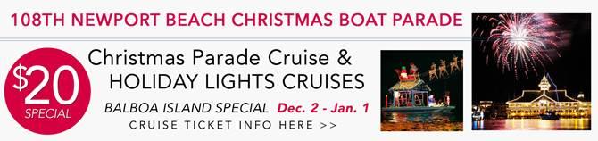 108th Balboa/Newport Beach Christmas Boat Parade & Holiday Lights ...