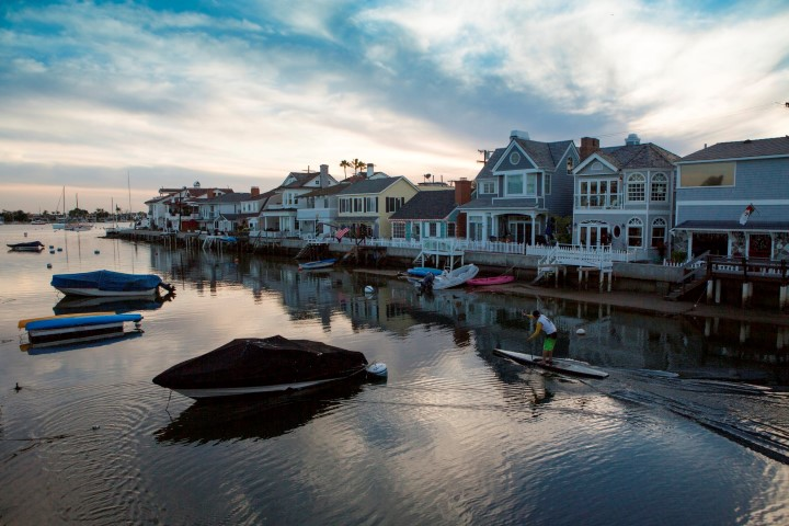Balboa Island Home For Sale Real Estate Waterfront Grand Canal Bayfront Water View Dock